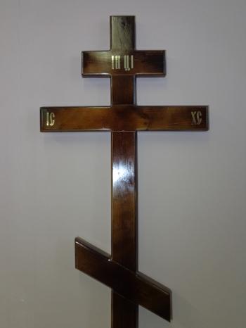 """Р0082 Крест """"Стандарт"""" сосна Н=210 (темный/светлый)"""