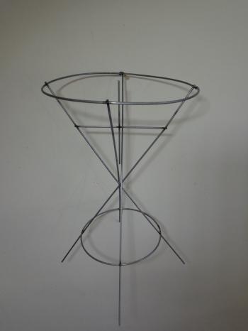"""М0021 Каркас ваза """"Мартини"""" б/р Н=35см"""