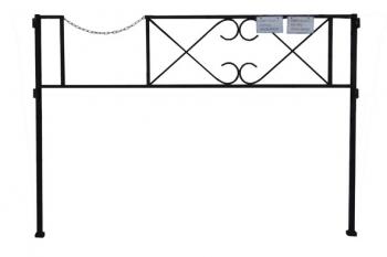 О0003 Оградка-2  (2,0м*1,5м)