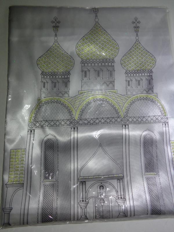 Р0241 Комплект атласный с церковью