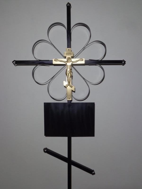 Р0120 Крест металл. Н=190см