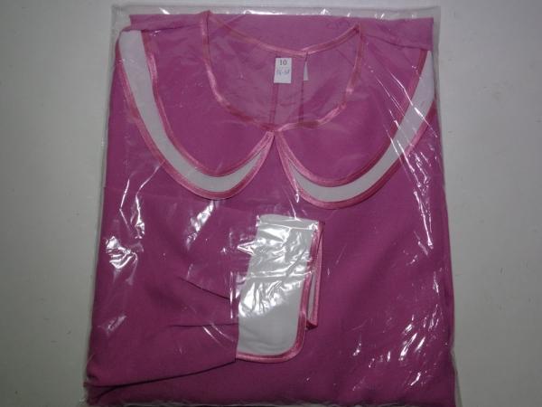 Р0167 Платье габардин с дв. воротничком
