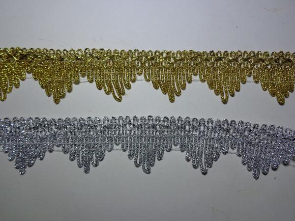 Р0221 Тесьма пирамидка Н=4см (уп-25 ярдов)