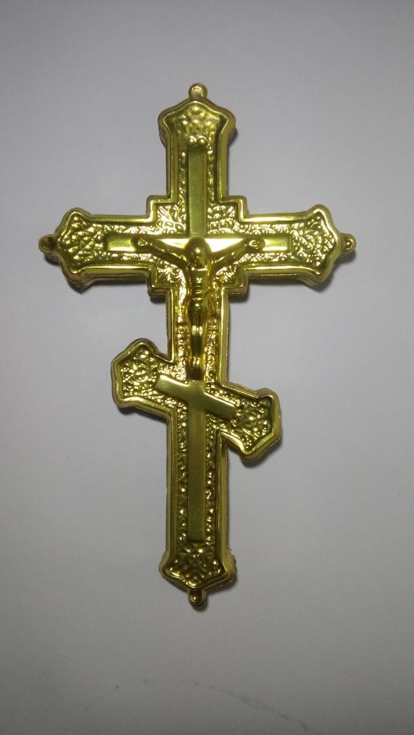 Р0103 Крест фольга Н=30см (50шт)