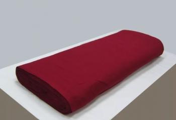 Р0115 Ткань х/б (бордо,красная) шир=80см